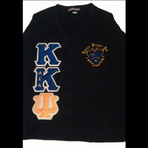 Kappa Kappa Psi Black Cardigan