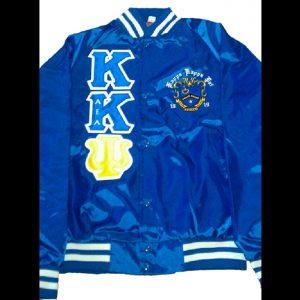 Kappa Kappa Psi Blue Satin Jacket