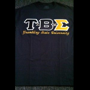 Tau Beta Sigma Black School Shirt