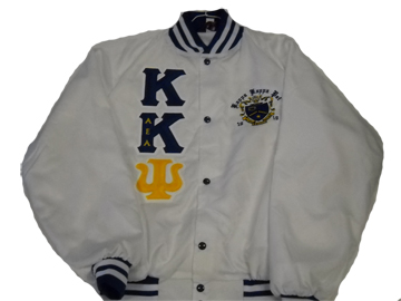 Kappa Kappa Psi White Satin Jacket