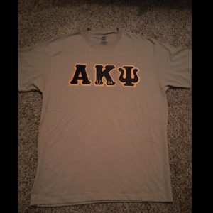 Alpha Kappa Psi Khaki Shirt