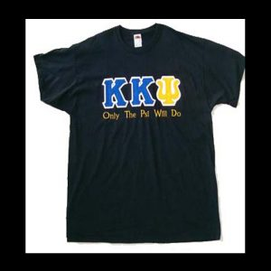 Kappa Kappa Psi Black Shirt