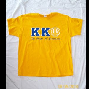 Kappa Kappa Psi Gold Shirt