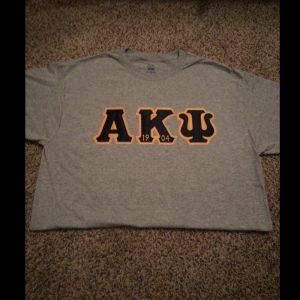 Alpha Kappa Psi Grey Shirt