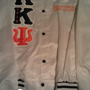 Kappa Kappa Psi Gray Satin Jacket