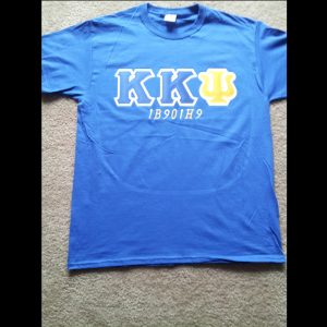 Kappa Kappa Psi Blue Shirt