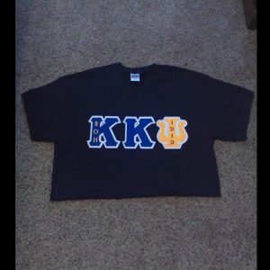Kappa Kappa Psi Blue Shirt with Org Letters
