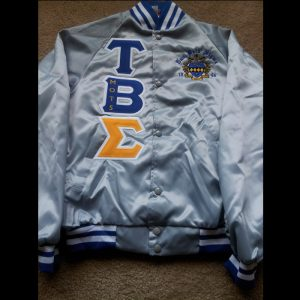 Tau Beta Sigma Grey Satin Jacket