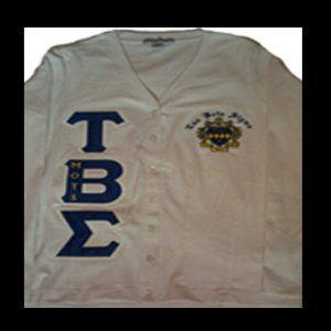 Tau Beta Sigma White Cardigan