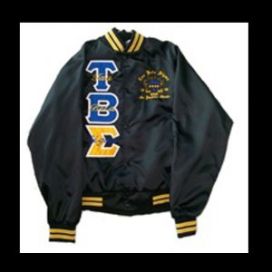 Tau Beta Sigma Black Satin Jacket