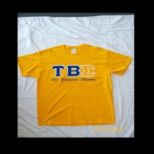 Tau Beta Sigma Gold Shirt
