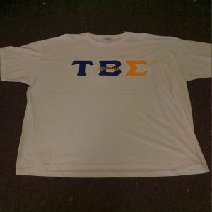 Tau Beta Sigma White Shirt