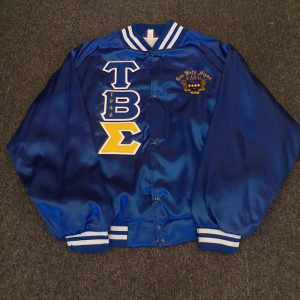 Tau Beta Sigma Gold Sigma Satin Jacket