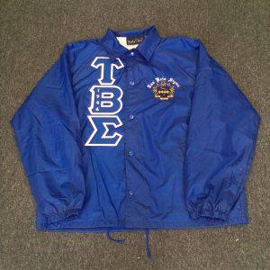 Tau Beta Sigma Blue Sigma Jacket B/W Letters