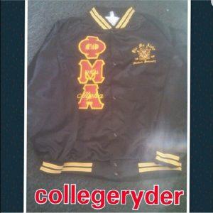 Phi Mu Alpha Satin Jacket