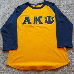 Alpha Kappa Psi Baseball Shirt
