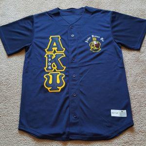 Alpha Kappa Psi Baseball Jersey