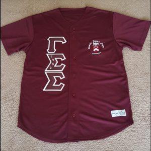 Gamma Sigma Sigma Baseball Jersey