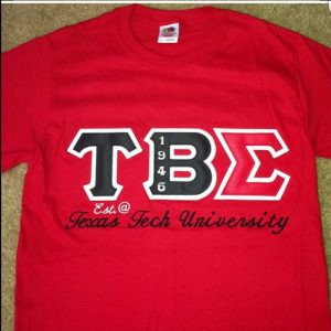 Tau Beta Sigma Red Shirt