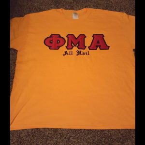 "Phi Mu Alpha ""All Hail"" Shirt"