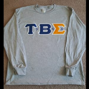 Tau Beta Sigma Gray Long Sleeve Shirt