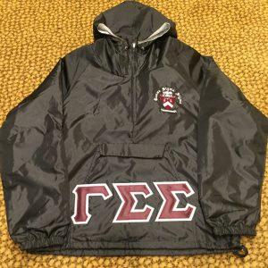 Gamma Sigma Sigma Blk Pullover Jacket