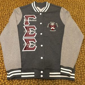 Gamma Sigma Sigma Grey Fleece Jacket