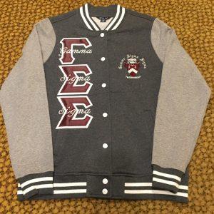 Gamma Sigma Sigma Grey Fleece Jacket