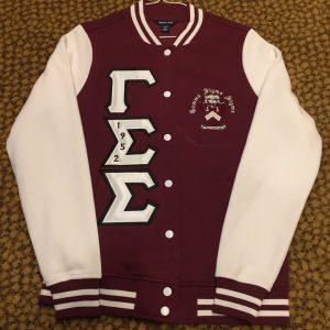 Gamma Sigma Sigma Maroon Fleece W/B letters