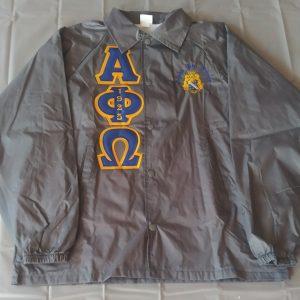 Alpha Phi Omega Grey Jacket
