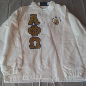 Alpha Phi Omega White Jacket
