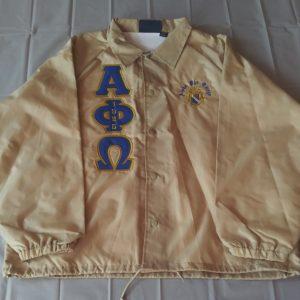 Alpha Phi Omega Gold Jacket