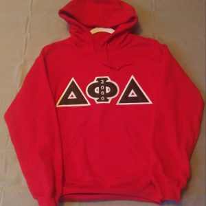 Delta Phi Delta Red Hoodie