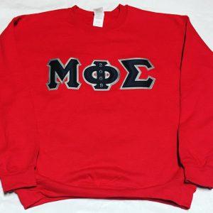 Mu Phi Sigma Red Sweatshirt