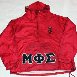 Mu Phi Sigma Red Pullover Jacket