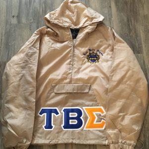 Tau Beta Sigma Khaki Pullover Jacket