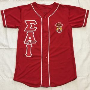 Sigma Alpha Iota Red/White Baseball Jersey