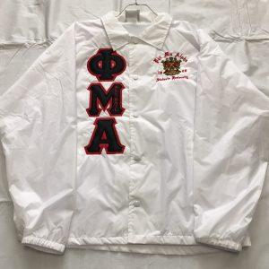Phi Mu Alpha White Jacket
