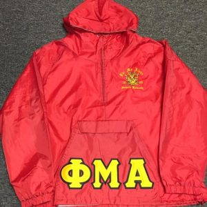Phi Mu Alpha Red Pullover Jacket