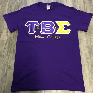 Tau Beta Sigma (Miles College) All-N-1 Shirt