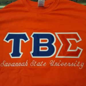 Tau Beta Sigma (SSU)  All-N-1 Orange Shirt