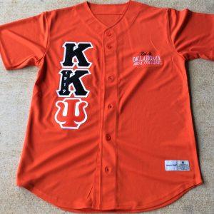 Kappa Kappa Psi Orange Baseball Jersey