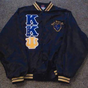 Kappa Kappa Psi  Blk/Gold Trim Jacket