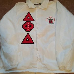 Delta Phi Delta White Jacket