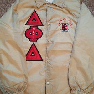 Delta Phi Delta Khaki Jacket