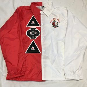 Delta Phi Delta Red/White Split Jacket