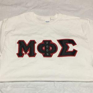 Mu Phi Sigma White Shirt