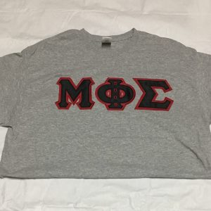 Mu Phi Sigma Grey Shirt