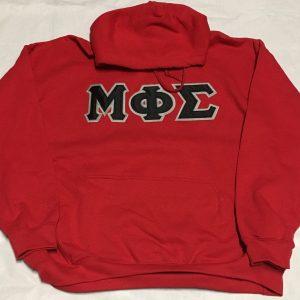 Mu Phi Sigma Red Hoodie