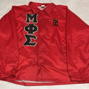 Mu Phi Sigma Red Jacket